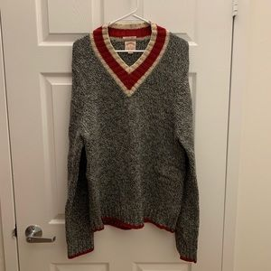 Brooks Brothers virgin wool sweater
